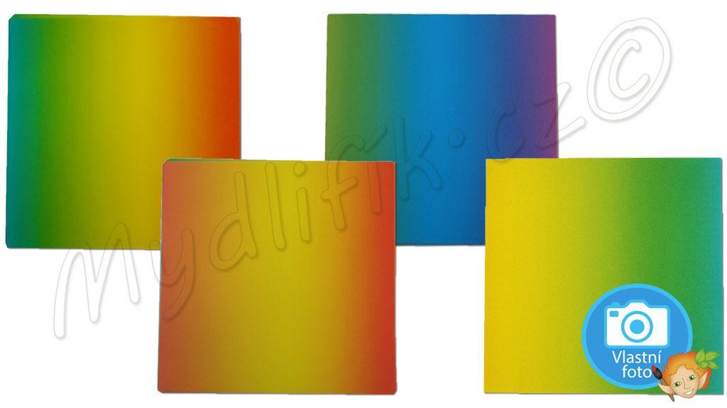 Folia 716 - Duhove origami papiry 15x15 cm, nabizi Mydlifik.cz