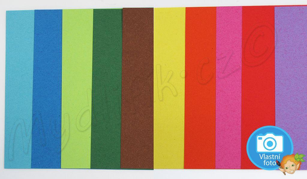 Folia - Origami papír 10x10 cm, 100 kusů, 10 barev