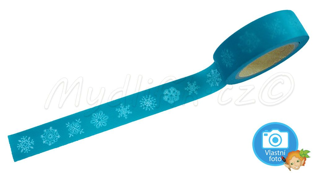 Folia 26055 - Washi tape Snehove vlocky